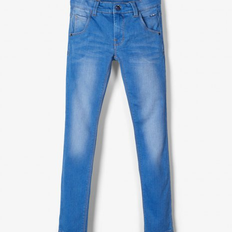 SUPERSTRETCH X-SLIM FIT JEANS blauw