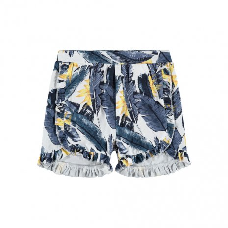 MG RUFFLE SHORTS